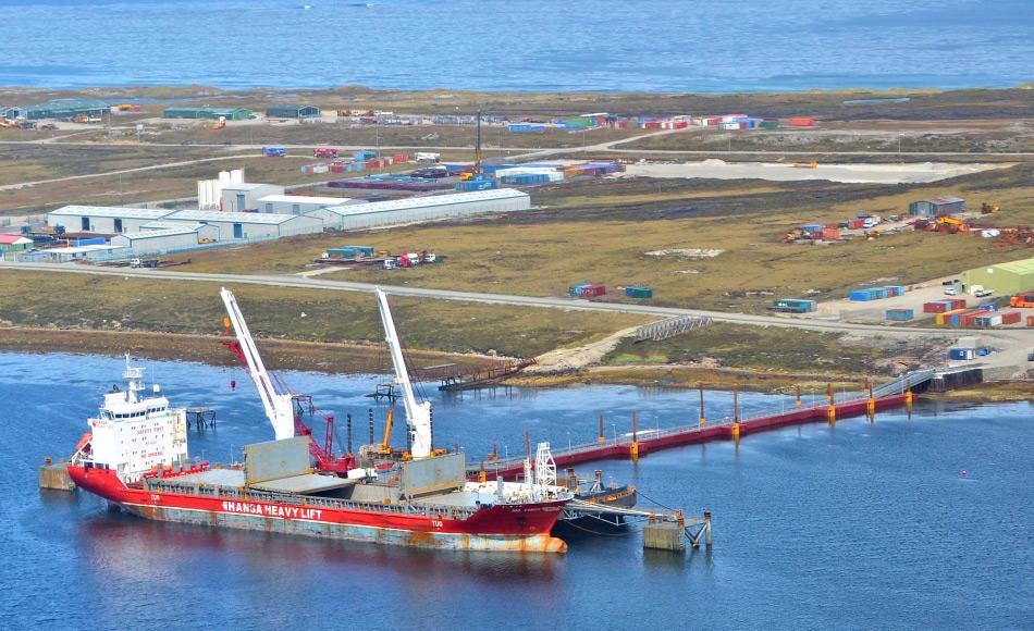Eine der am nächstgelegenen Orte, an denen noch Rohstoffförderung betrieben werden darf, sind die Falklandinseln. Dort werden grosse Öl- und Gasvorkommen vermutet. Doch aufgrund des niedrigen Ölpreises sind alle Fördervorhaben gestoppt worden. Bild: Scottish Energy News